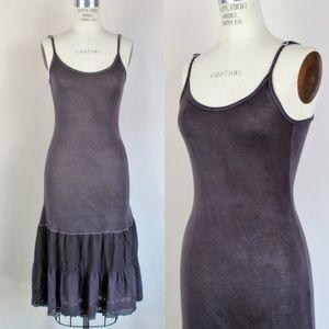 Free People dress, size S/M, Charcoal Gray